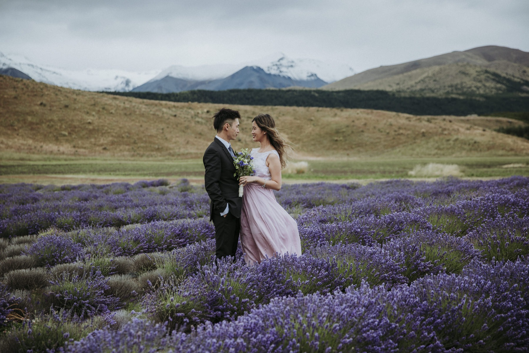 Mount Cook Engagement Photos
