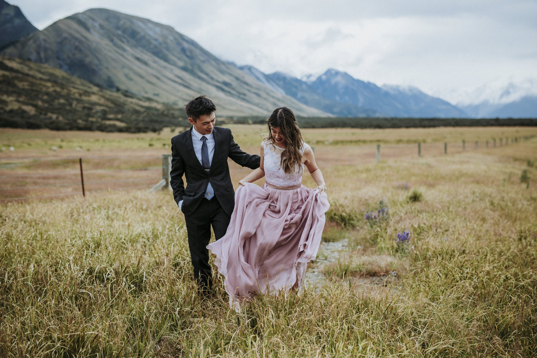 Mount Cook Destination Wedding
