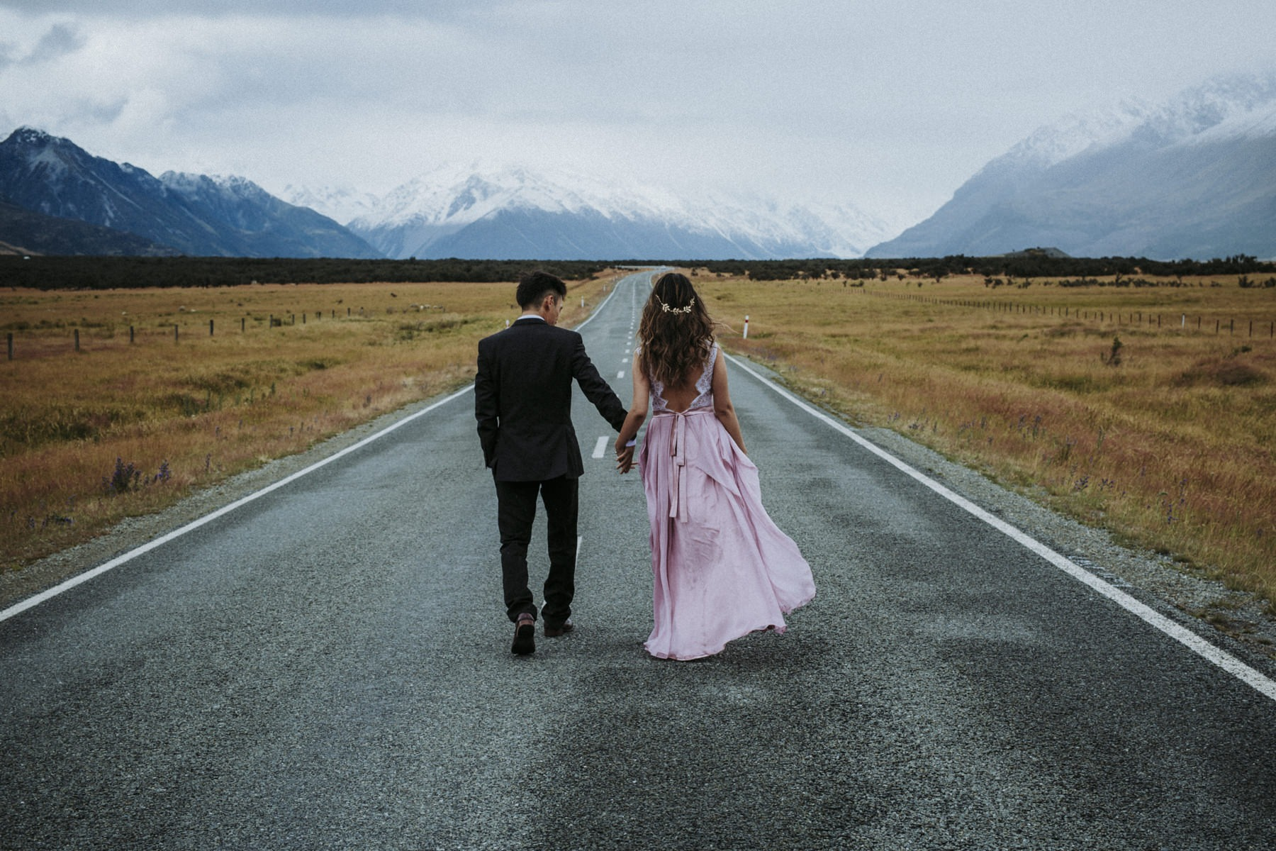 New Zealand Mountain Wedding
